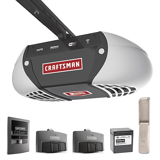 Crafstman 1-1/4 HP Belt Drive Opener