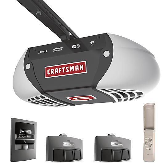 Crafstman 3/4 HP Belt Drive Opener