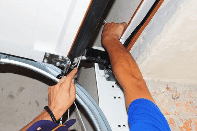 Garage Door Safety Install